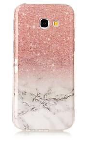 עבור Samsung galaxy a3 a5 (2017) מקרה כיסוי השיש בחדות גבוהה דפוס tpu חומר imd טכנולוגיה רכה חבילת הטלפון הנייד במקרה