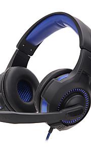 Soyto sy885mv luminous game øretelefon headset gaming headset netbar dedikeret hovedtelefon ledet lys støtte