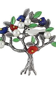 Dame Brocher Enkelt design Legering Smykker For Afslappet