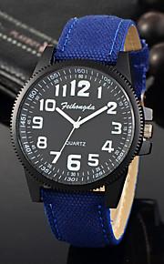 Feihongda Men's Fashion Sport Wrist watch Unique Creative Watch Casual Quartz Fabric Band Charm Luxury Elegant Cool Watches