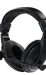 Fone de ouvido estéreo com fio auscultadores de jogos fone de ouvido fones de ouvido com microfone para celular