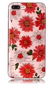 Case voor apple iphone 7 plus 7 telefoon hoesje tpu materiaal imd proces bloemen patroon hd flash poeder telefoon hoesje 6s plus 6 plus 6s