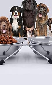 Gato Cachorro Tigelas e Bebedouros Animais de Estimação Tigelas e alimentação de animaisProva-de-Água Retratável Portátil Dupla Face