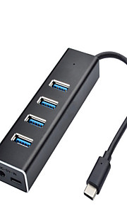 CQT-H330C HUB USB 3.0 10 Gbps Super-Speed 4 Ports with 0.1m Cable