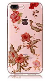 Case voor iphone 7 plus 7 telefoon hoesje tpu materiaal imd proces ochtend glorie patroon hd flash poeder telefoon hoesje 6s plus 6 plus