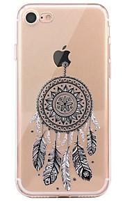 Caso per il iphone 7 6 copertura posteriore morbida della copertura posteriore della copertura posteriore del tpu del tpu 6 plus 6 6s più