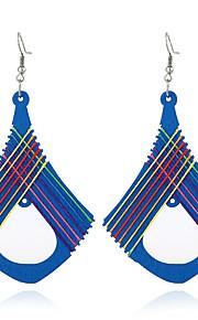 Women's Dangle Earrings Jewelry Euramerican Bohemian Personalized Wood Geometric Jewelry For Halloween Gift Outdoor clothing