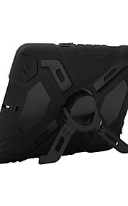 애플 ipad 미니 3/2/1 충격 방지 스탠드 전신 케이스 단색 하드 pc와 실리콘