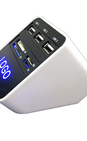 HC8038 HUB USB 2.0 3 Ports 480 Mbps High-Speed