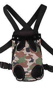 Kot Pies Przewoźnicy i plecaki turystyczne Plecak z przodu Zwierzęta domowe Torby Korygujący/Wysuwany Przenośny Modny Camouflage Color