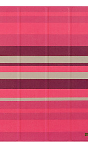 Apple ipad pro 12.9 ''케이스 커버 스탠드 플립 종이 접기 전신 케이스 라인 / 파도 하드 pu 가죽