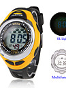 Men's Watch Sport EL Light Digital Multi-Functional Silicone Strap Cool Watch Unique Watch Fashion Watch
