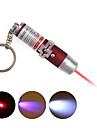 3 1의 UV 검출기 + 레이저 열쇠 고리 + LED 열쇠 고리 - 레드