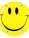 LED clignotante insigne visage souriant
