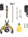 22pcs relógio kit de ferramentas de reparo com abridor de caixa do relógio