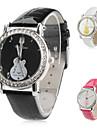 модная ПУ женщин аналоговые кварцевые наручные часы (ассорти)