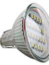 GU5.3 1.5 W 24 SMD 3528 60 LM Natural White MR16 Spot Lights DC 12 V