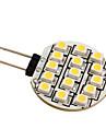g4 3528 SMD 15 под руководством 0.36w теплый белый лампочка для автомобиля (12 В постоянного тока)