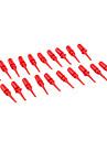 빨간색 전자 DIY 용 악기에 jl1451 작은 후크 (20 개 팩)