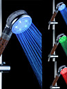 ABS Chrome Finish LED Shower Head with Water Filtering Function