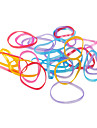 Durable Colorful TPU Rubber Band (30 Pieces)