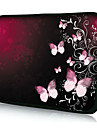 """Butterfly Neoprene Laptop Sleeve Case for 10-15"""" iPad MacBook Dell HP Acer Samsung"""