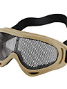 Outdoor Eye Protector Metal Mesh Goggle