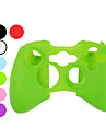 protetora de silicone caso para xbox 360 controlador (cores sortidas)
