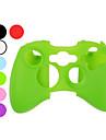 skyddande silikon för Xbox 360 Controller (blandade färger)