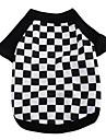 T-shirt - Chiens - Toutes Saisons Noir - en Coton - XS / M / S / L