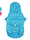 Dog Hoodie / Clothes/Clothing Blue / Pink Winter Solid