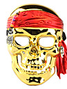 Galvanoplastie Masque de crane de pirate pour Halloween Costume Party