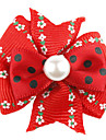 Patron de flores y Spot Rubber Band Tiny Hair Bow para Perros Gatos
