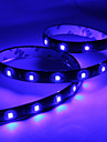 60cm 30x1210 SMD LED Blue Light Strip Lampe for Bil (DC 12V)