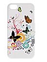 красочные бабочки мягкий чехол для iphone 5/5s