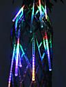 20 centimetri Festival Decorazione LED colorati pioggia Luci Meteor per la Festa di Natale (8-Pack, 110-220V)