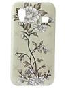 Cas motif fleur dur pour Samsung Galaxy Ace S5830