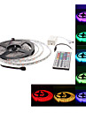 Waterproof 5M 300x5050 SMD RGB Light LED Strip Lamp with 44-Button Remote Controller Set (12V)