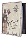 Retro Big Ben Pattern PU Leather Case for iPad 2/3/4