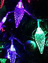 30-7M LED en forme de feuille lumiere coloree LED de bande Fee lampe pour la decoration Festival (220)