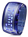 Bracelet Design Future Blue LED Wrist Watch - Dark Blue