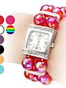 Women\'s Plastic Analog Quartz Bracelet Watch (Assorted Colors)
