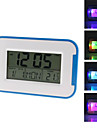 "3.5"" LCD Colorful Backlight Natural Sounds Digital Alarm Clock Calendar (3xAAA, 2 Colors Selectable)"