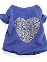 Dog T-Shirt - XS / S / M / L - Spring/Fall - Blue Cotton