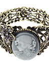 z&x® temperament dame opluchting oude holle out brede armband