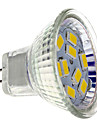 4W GU4(MR11) Focos LED MR11 9 SMD 5730 430 lm Blanco Calido DC 12 V