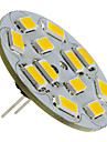 1.5W G4 LED Spotlight 12 SMD 5730 130-150 lm Warm White DC 12 V