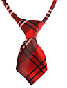 Classical Plaid Pattern Neck Tie for Pets Dogs Cats (Assorted Color,Neck: 26-38cm)