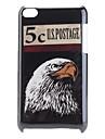 Cas d\'aigle modele rigide pour iPod Touch 4