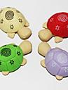 분리 거북이 모양의 지우개 (2PCS 임의의 색상)